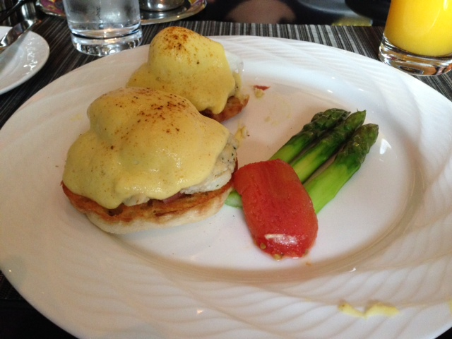 Ritz Carlton Tysons Corner Breakfast