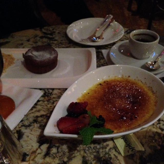 Ritz Carlton Tysons Corner Entyse Dessert