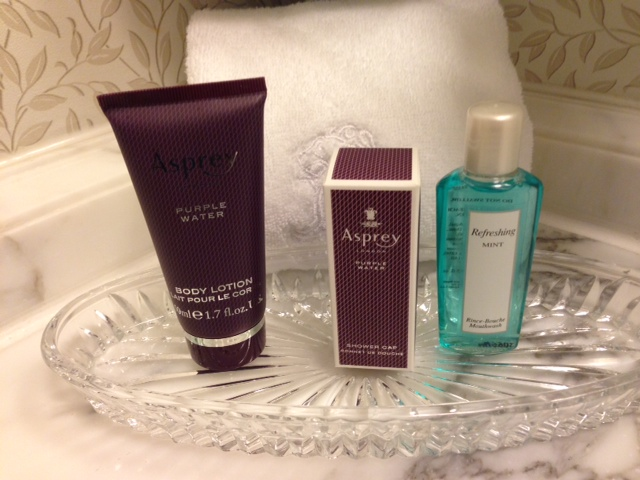 Ritz Carlton Tysons Corner Toiletries