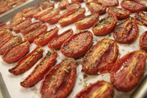 MrsWheelbarrow.com - Roasted Tomatoes