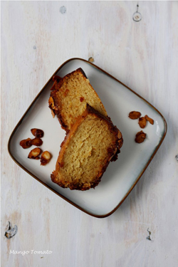 Mango & Tomato - Honey Almond Cake with Orange Zest