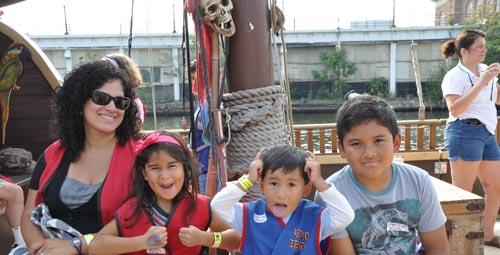 Urban Pirates ship