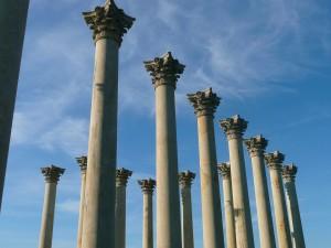 DC Arboretum Capital Columns by Abel Olivo