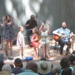Enjoying music outside: Elizabeth Mitchell at Wolf Trap's Children's Theatre-in-the-Woods