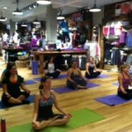 Moms Heart Yoga, Shopping & Socializing at Athleta