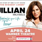 GIVEAWAY: Jillian Michaels at The Warner Theatre