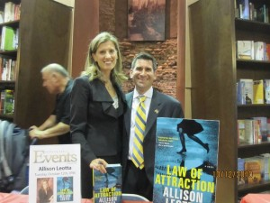 Allison Leotta and her husband, Mike