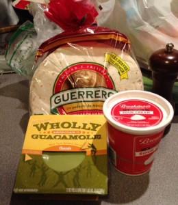 quesadilla ingredients