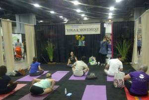 Green Festival yoga