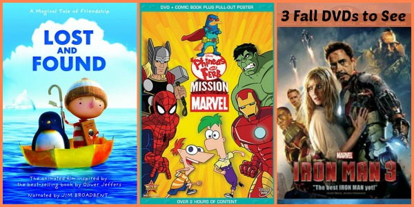3 Fall DVDs