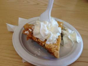 What better way to finish two amazing days driving and walking and eating but with pie!