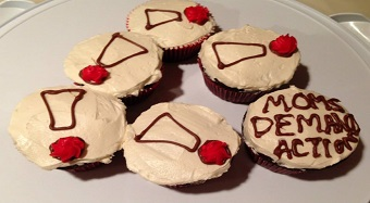 Moms Demand Action Cupcakes