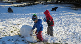 Thumbnail image for Not Afraid of the Weather: Outdoor-Happy Preschools