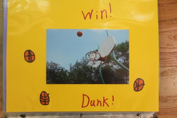 basketball mid-air child-taken photo