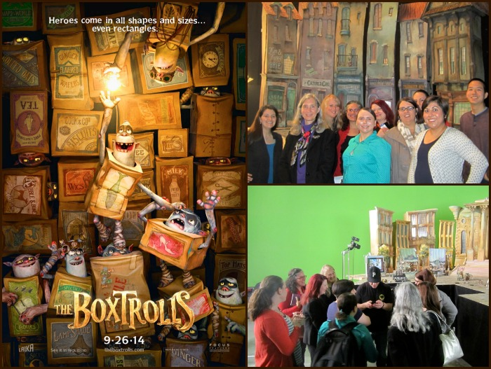 Box Trolls Set Visit