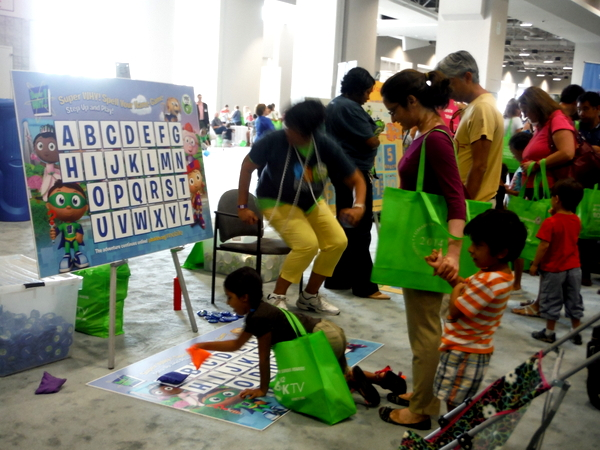 2014 National Book Festival PBS Kids games