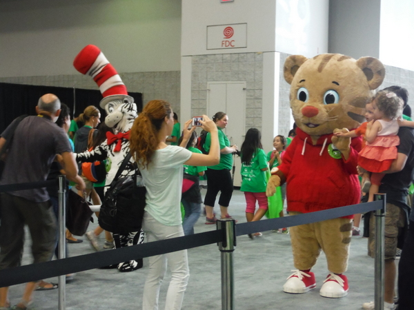 2014 National Book Festival PBS characters