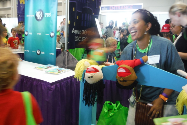 2014 National Book Festival PBS puppets