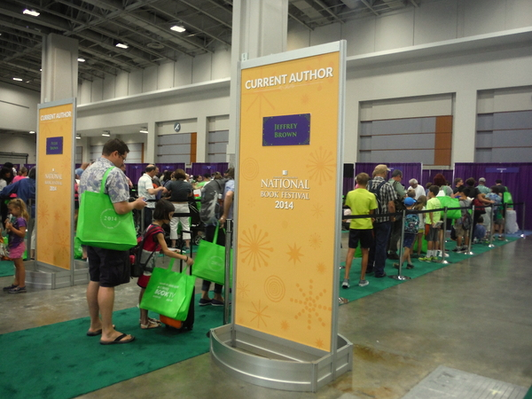 2014 National Book Festival signing lines