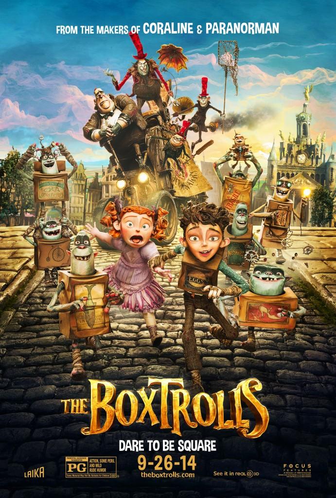 Boxtrolls Theatrical Poster