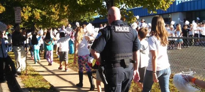 Police Open Carry in Arlington County Public Schools