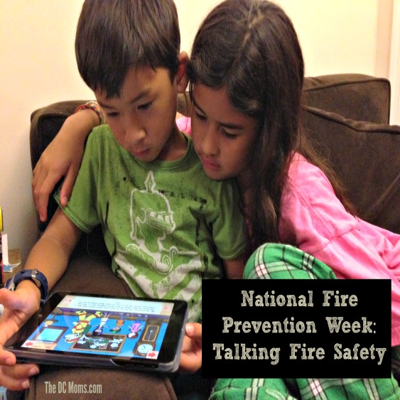 Sponsored Post: Talking Fire Safety for Fire Prevention Week
