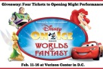 GIVEAWAY: Four Tickets to Disney on Ice Worlds of Fantasy!