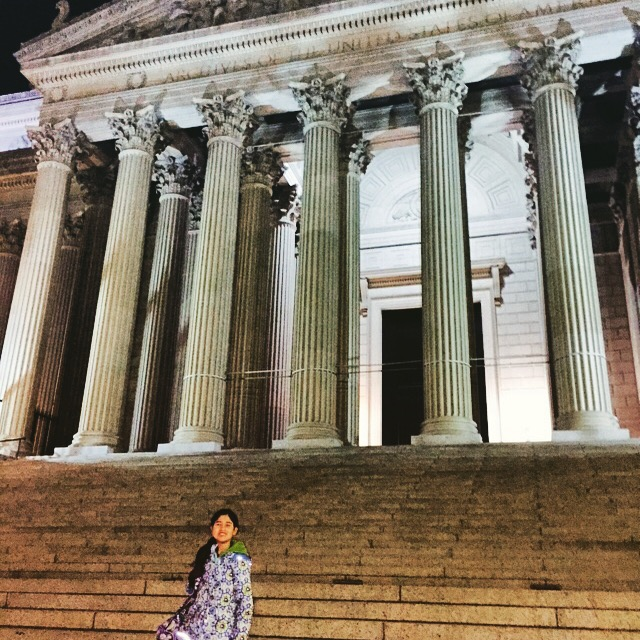 Daughter at National Archives