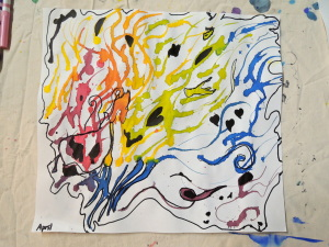 art at Meredith Meer class