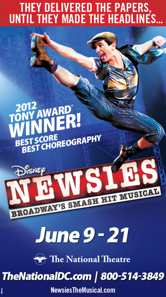 Newsies at the National Theatre