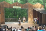 Summer song and dance at Wolf Trap Children's Theatre-in-the-Woods
