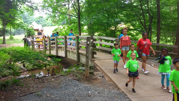 Wolf Trap Children's Theatre-in-the-Woods - bridge