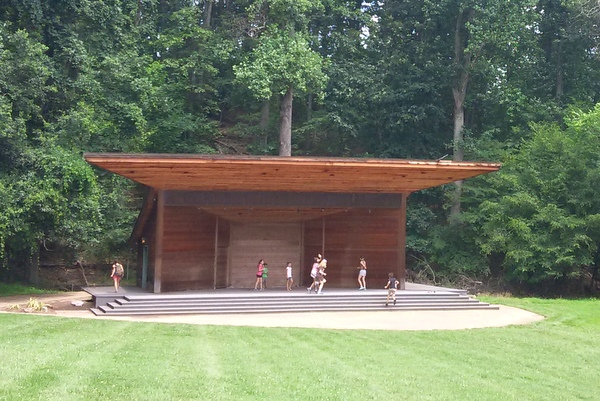 Wolf Trap Children's Theatre-in-the-Woods - extra amphitheatre