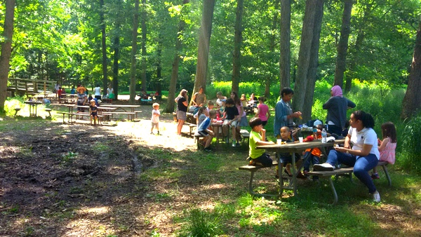 Wolf Trap Children's Theatre-in-the-Woods - picnic