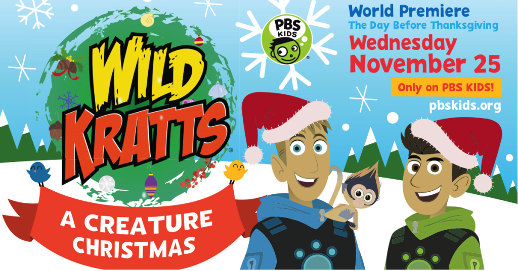 wild kratts christmas special