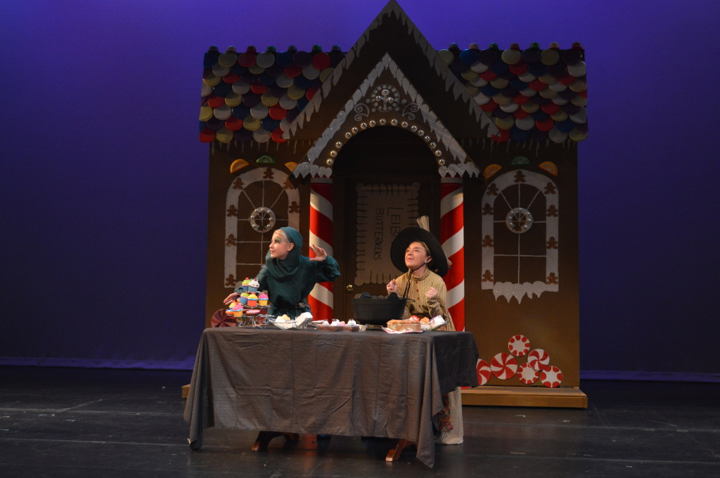 Encore Stage and Studio Hansel and Gretel cottage