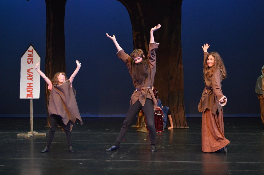 Encore Stage and Studio Hansel and Gretel troll family