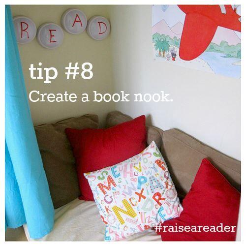 Create a book nook