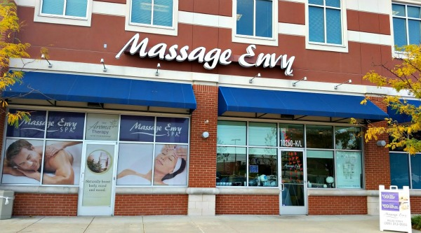 Massage Envy, College Park, MD location *** photo: Dawn Mooney