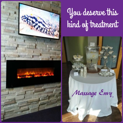 Tranquility Room and complimentary snacks *** photos: Dawn Mooney