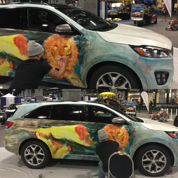 Art in Motion at Washington Auto Show