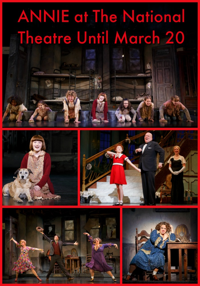 annie at national theatre
