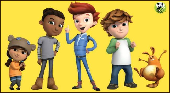 Ready Jet Go on PBS Kids