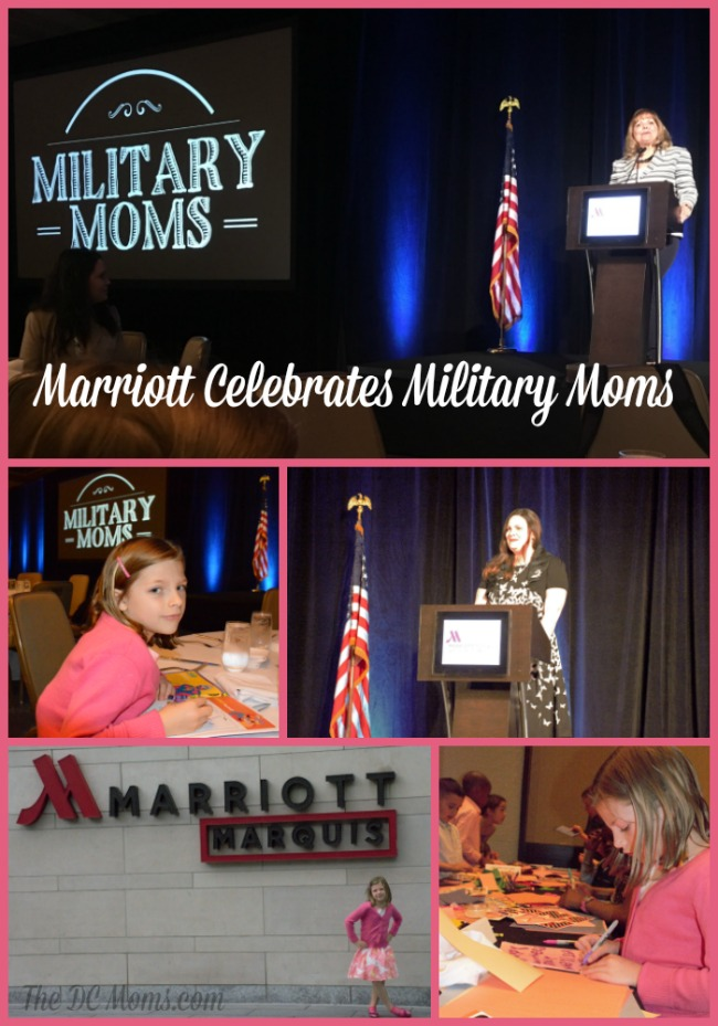 Marriott Celebrates Military Moms and Spouses