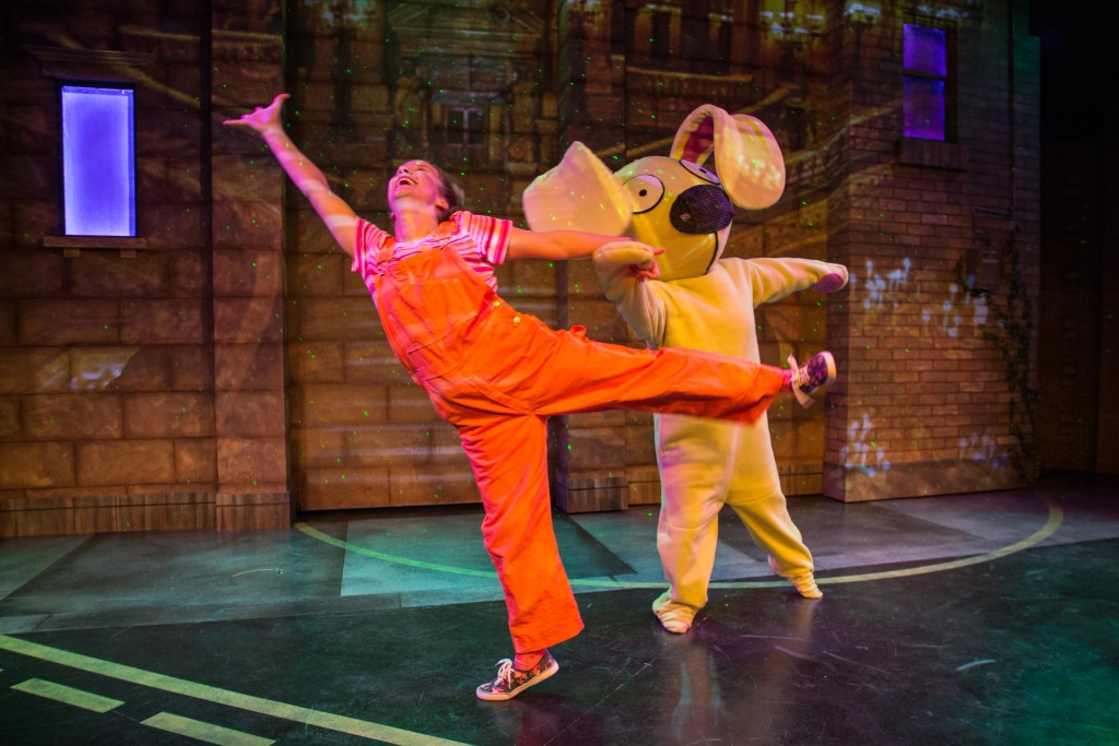 Knuffle Bunny at Adventure Theatre