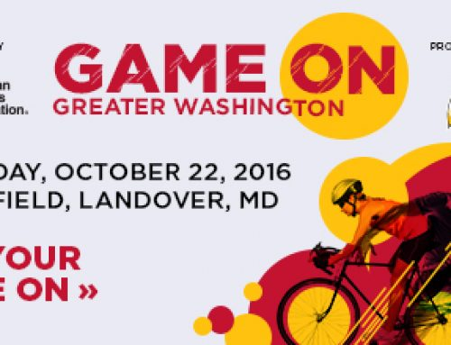 Giveaway to Game On Greater Washington Event