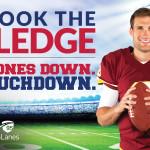 Kirk Cousins Supports Phones Down Touchdown