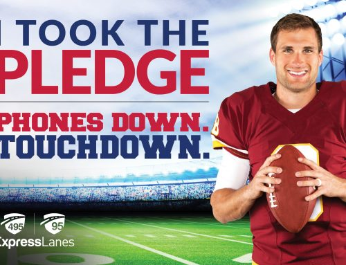Kirk Cousins Supports Phones Down Touchdown