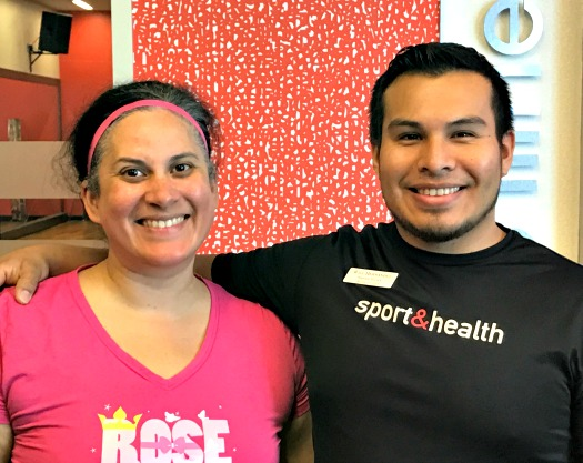Will and me at Sporth & Health