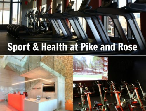 Going Back to the Gym at Sport & Health Pike and Rose #PikeFit